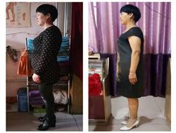 减肥34斤后,不但身条美了,血压血糖好了,我信了食疗的好处