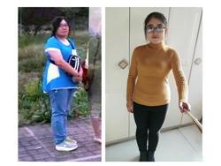 三个月减了40斤,找回了自信,我太开心了