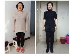 三个月减肥37.4斤,脸上的痘痘也没了,月经也正常了