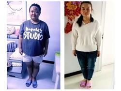 5个月减肥70多斤,我的生活从此自信和阳光,头疼、腰疼、嗜睡的毛病也没有了,身体更健康