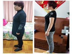 两个半月减肥29斤!感谢王老师的科学指导,不仅让我瘦身成功,还康复了慢性咽炎、妇科炎症等多种疾病
