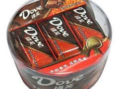 德芙纯可可豆夹心巧克力