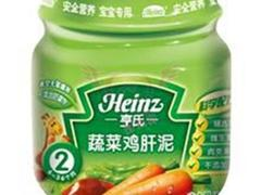 鸡肝蔬菜泥(亨氏)
