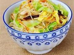 高丽菜炒米粉