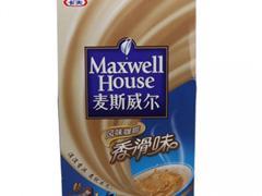 麦斯威尔三合一香滑咖啡