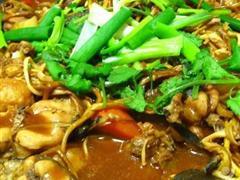豆芽白菜鲶鱼煲
