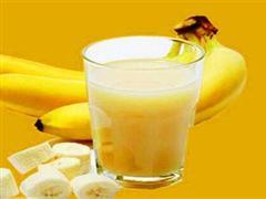 牛奶香蕉汁