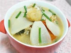 萝卜炖豆腐