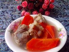 胡萝卜煲排骨