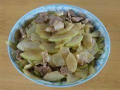 冬瓜炒猪肉