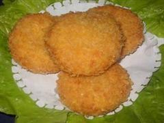 自制甘薯饼