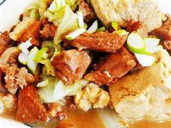 羊肉冻豆腐