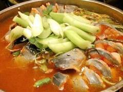 菊花鲈鱼火锅