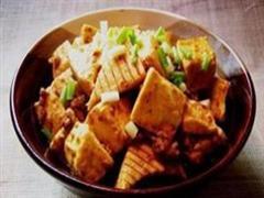 宫保魔芋豆腐