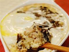 温泉鸡蛋饭