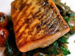 牛油焗鲑鱼