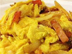 咖喱杂菌炒蛋