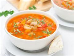 白豆蔬菜汤