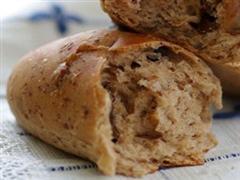无油核桃提子面包