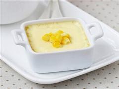 奶香玉米布丁