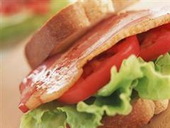 牛肉火腿三明治