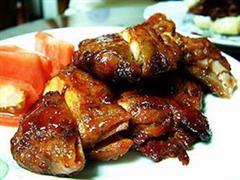 香竹烤野鸡