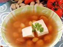 栗豆腐(素)