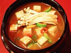 豆腐白菜酱汤