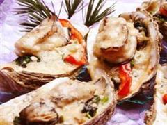 奶酪焗牡蛎