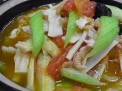 砂锅丝瓜猪肉