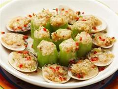 丝瓜蛤蜊盒