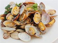 微波烤蛤蜊