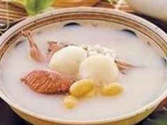 节瓜猪横舌汤