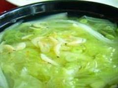 肉片虾米汤