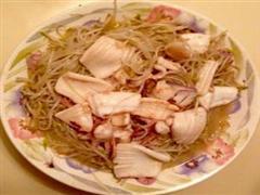 乌鱼炒掐菜