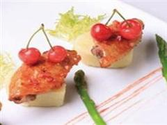 樱桃薯泥鸡翅