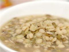 绿豆薏仁水