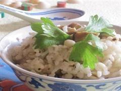 香菇薏米饭
