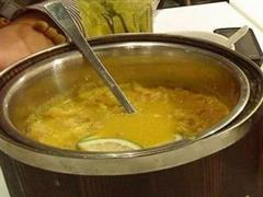明卵虾酱锅