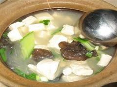 砂锅豆腐汤