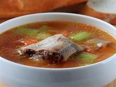 蔬菜牛尾汤