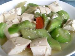 丝瓜酿豆腐