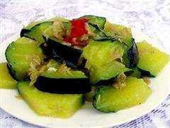 海米烧笋瓜