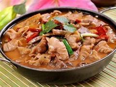 沙锅卤煮豆腐大肠