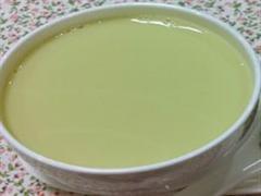 百合绿茶豆浆