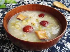 绿豆红枣粥