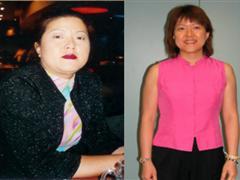 云健康减肥,大肚子消失了,看上去至少年轻了10岁