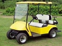 高尔夫,使用电动球车