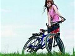 骑自行车,速度10-11.9公里/小时,慢速,低强度