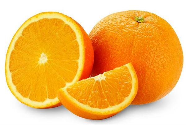 橙子水果雕刻动物形象